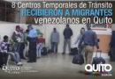 Migrantes en vulnerabilidad fueron trasladados a Centros Temporales de Tránsito