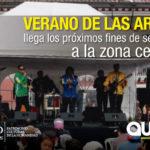 Barrios de la Zona Centro disfrutan del Verano de las Artes (VAQ)