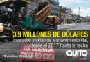 Continúa la rehabilitación vial con la repavimentación de la Río Coca