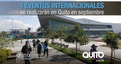 Quito, sede de eventos internacionales
