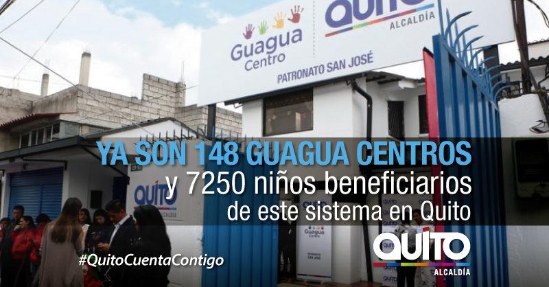 Alcalde Rodas entregó ocho nuevos Guagua Centros