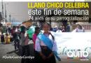 Desfile de la Confraternidad en Llano Chico