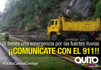 Municipio atendió 14 emergencias por lluvias este fin de semana