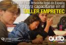 Testimonio del taller Empretec de una participante que llegó de España