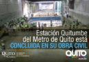 14 de 15 estaciones del Metro culminaron su obra civil