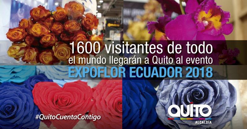 Centro de Convenciones Metropolitano de Quito se abre con Expo Flor Ecuador 2018