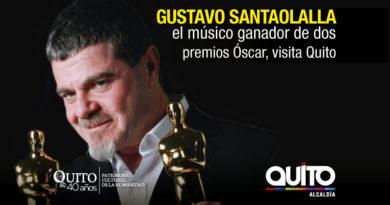 Santaolalla gratis en el Teatro Capitol de Quito