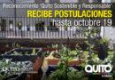 Municipio de Quito reconocerá iniciativas ciudadanas de Responsabilidad Social