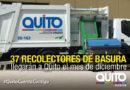 EMASEO EP adjudica la provisión de la nueva flota de recolectores al Consorcio RECOBAQ