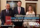 Quito y Doha firman acuerdo de hermanamiento