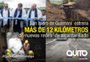 Alcantarillado combinado  por 1.3 millones se entregó en San Isidro de Guamaní