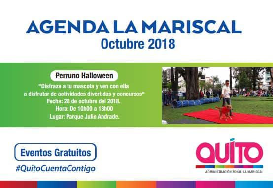 Calendario Perruno.Halloween Perruno En La Mariscal Quito Informa