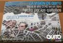 Alcalde Rodas presentó el libro 'Quito Visión 2040 y su nuevo modelo de ciudad'