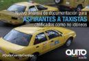 Aspirantes a taxistas que fueron calificados de no idóneos, tendrán una segunda oportunidad