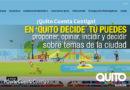 Quito cuenta con la plataforma digital de participación ´Quito Decide´