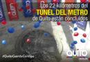 """""""Luz de América"""" finalizó su labor y concluyó la construcción del túnel del Metro"""