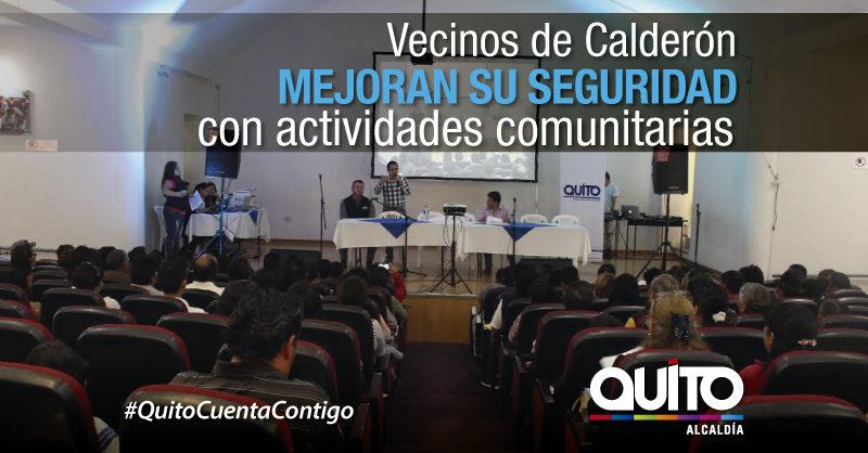 Actividades encaminadas a fortalecer la seguridad ciudadana