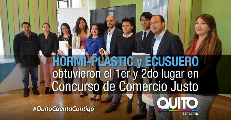 Se realizó concurso 'Mi emprendimiento apoya el comercio justo y consumo responsable'