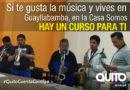 Inscripciones abiertas para formación musical en Casa Somos Guayllabamba