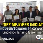 Mintur premió a los ganadores de Emprende Turismo
