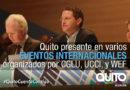 Alcalde de Quito participa en Foro de Gobiernos Locales y Regionales