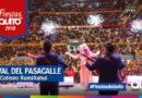 Con un Coliseo lleno se desarrolló el Festival del Pasacalle
