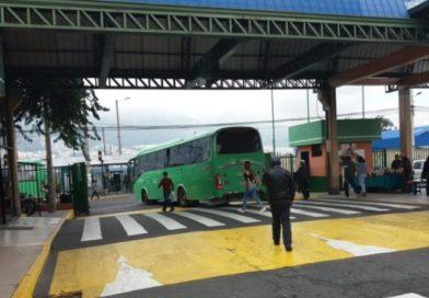 Plan Operativo en Terminales Microrregionales por Caminata Virgen Del Quinche