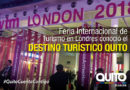 Quito promociona su oferta turística en World Travel Market 2018