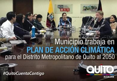 Presentan diagnóstico de actualización del Plan de Acción Climática de Quito para el 2050