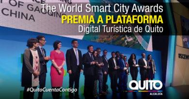 La Plataforma Digital Turística de Quito entre los seis mejores proyectos