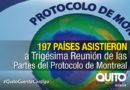 En Quito se realiza la Trigésima Reunión de las Partes del Protocolo de Montreal