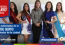Reina de Quito inició actividades oficiales por Fiestas de Quito