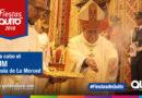 Te Deum, ceremonia religiosa en agradecimiento a la Virgen de la Merced