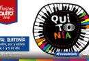 Quitonía estará presente en 6 espacios del Distrito