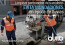 Municipio intensifica trabajos preventivos para el invierno