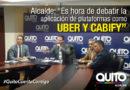 Ante la situación provocada, por la dirigencia del taxismo el Alcalde llama a debatir alternativas como Uber y Cabify