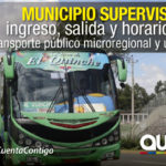 Operativos de control al transporte público se refuerzan por peregrinación al Quinche