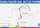 Municipio inicia reconstrucción de 3,4 kilómetros de la vía principal de Puembo