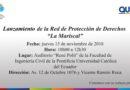 """Lanzamiento de la Red de Protección de Derechos """"La Mariscal"""""""