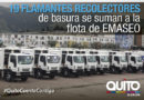 Alcalde entregó llaves de los nuevos  recolectores a conductores de EMASEO
