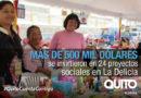 24 proyectos sociales se ejecutaron en la zona La Delicia