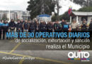 Agencia de Control intensifica operativos de uso no autorizado del espacio público