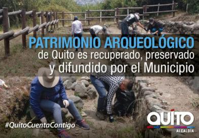 En salvaguarda del patrimonio arqueológico de Quito