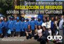 Proyecto Quito a Reciclar se implementó en la cabecera parroquial de Cumbayá