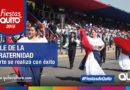 Los quiteños disfrutaron del Desfile de la Confraternidad del Norte