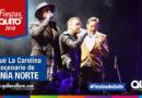 Artistas nacionales e internacionales deleitaron con su voz en el Quitonia Norte