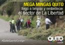 Municipio realizó Mega Minga en el sector de La Libertad