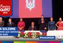Sesión Solemne del Concejo por los 484 años de la Fundación de Quito