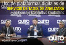 Consejo consultivo ciudadano debatirá sobre aplicaciones para el servicio de taxis