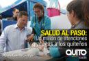 Quito celebró un millón de atenciones en Salud al Paso